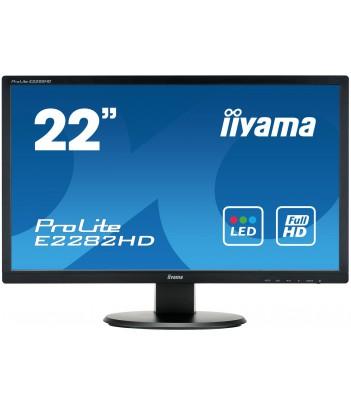 """iiyama 21.5"""" TN E2282HD-B1 (GWARANCJA ZERO MARTWYCH PIXELI)"""