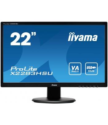 """iiyama 21.5"""" VA X2283HSU-B1DP (GWARANCJA ZERO MARTWYCH PIXELI)"""