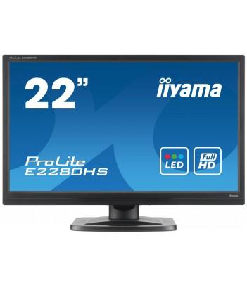 """iiyama 22"""" TN E2280HS-B1 (GWARANCJA ZERO MARTWYCH PIXELI)"""