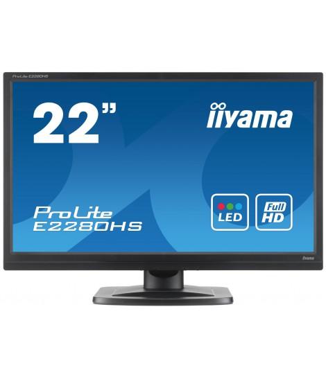 """iiyama 22"""" TN E2280HS-B1"""