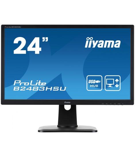 """iiyama 24"""" TN B2483HSU-B1DP"""