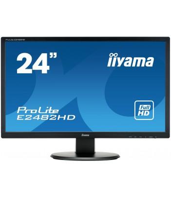 """iiyama 24"""" TN E2482HD-B1 (GWARANCJA ZERO MARTWYCH PIXELI)"""