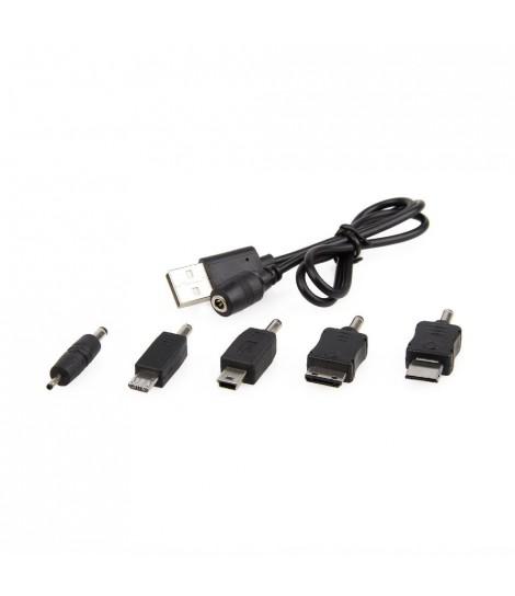 Kabel ładujący USB z zestawem najpopularniejszych końcówek Energenie EG-UCS-002