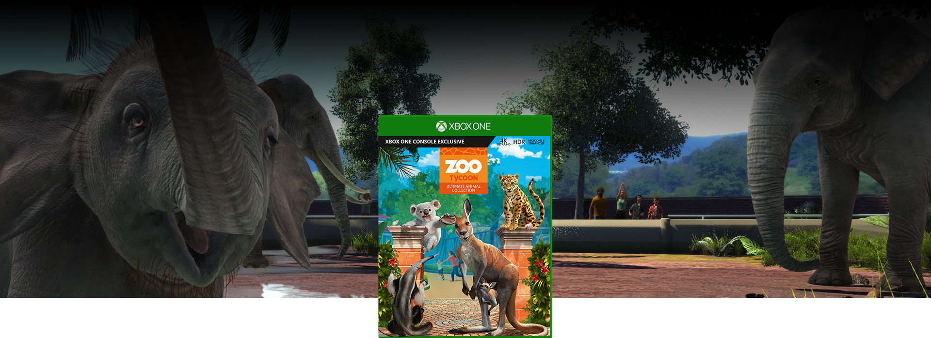 Gra Xbox One Zoo Tycoon: Ultimate Animal Collection (GYP-00021)