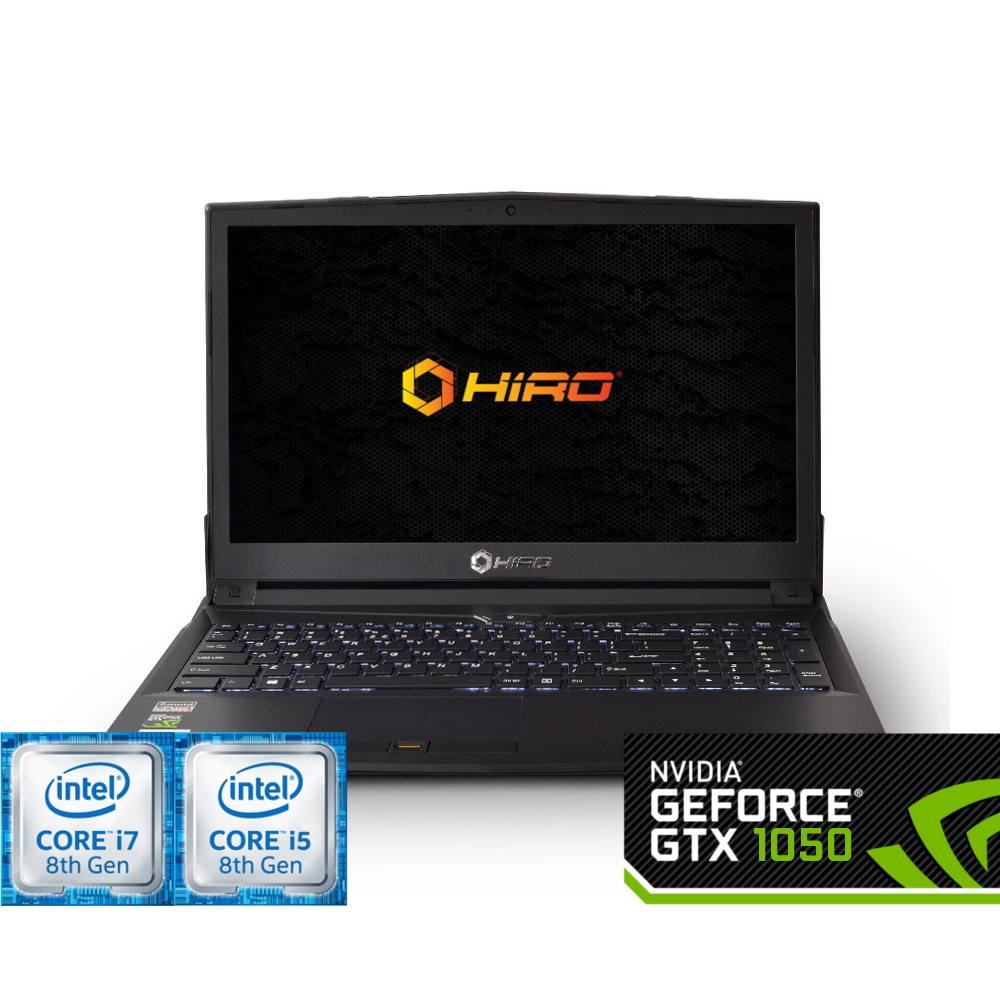 HIRO 850 (i5-8300H/i7-8750H + 1050 4GB)