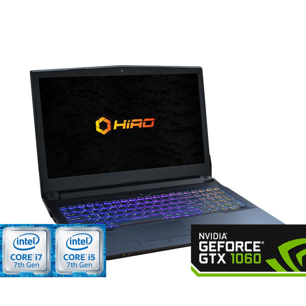 HIRO 857 (i5-7300H/i7-7700H + 1060 6GB)
