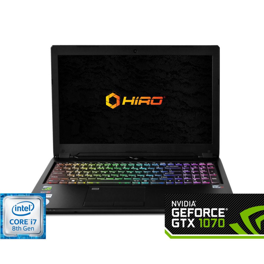 HIRO 950 (i7-8750H + 1070 8GB)