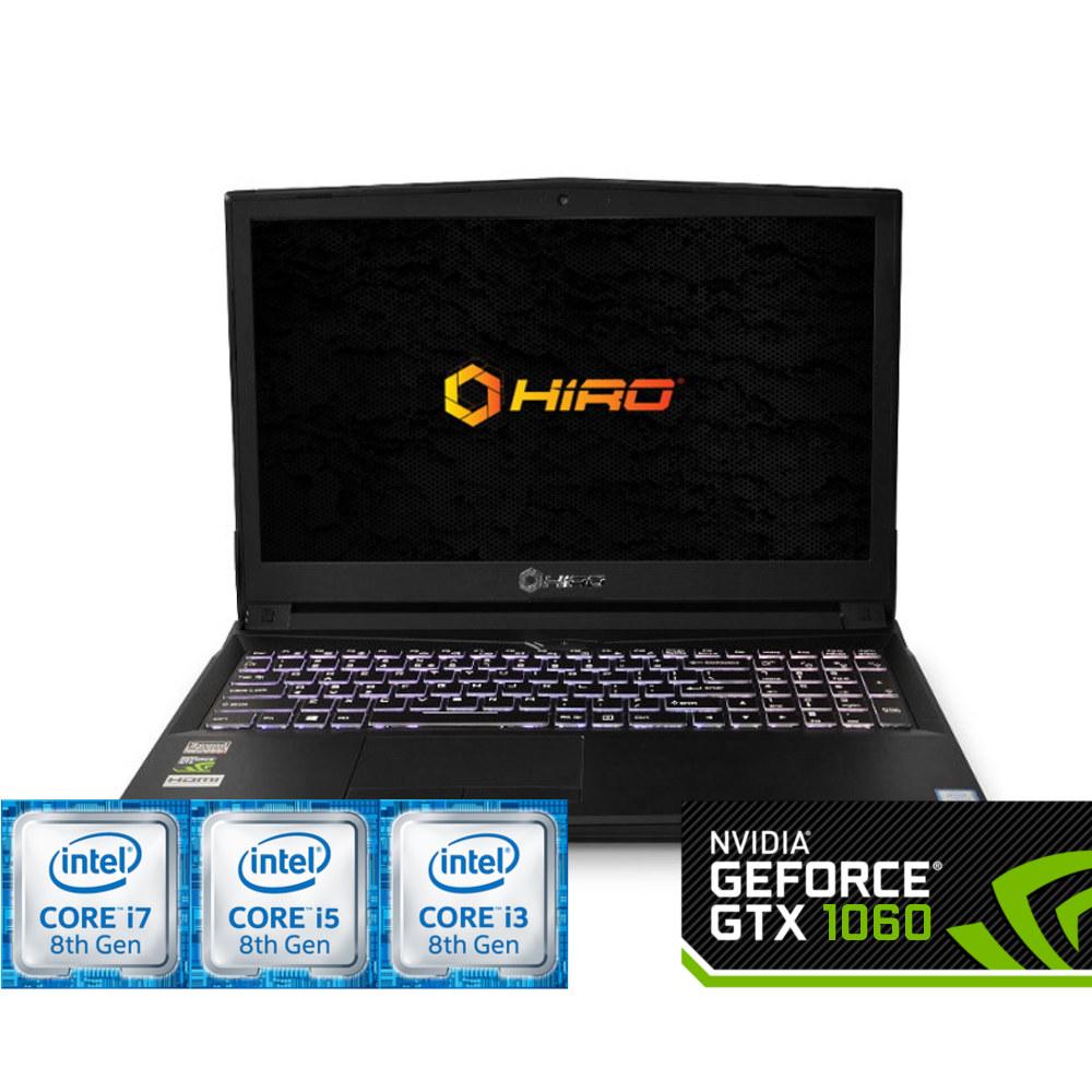 HIRO 957 (i3-8100/i5-8400/i7-8700 + 1060 6GB)