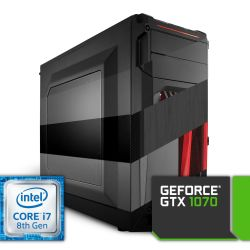 Komputer NTT Game Intel Core i7 8-gen + GTX 1070
