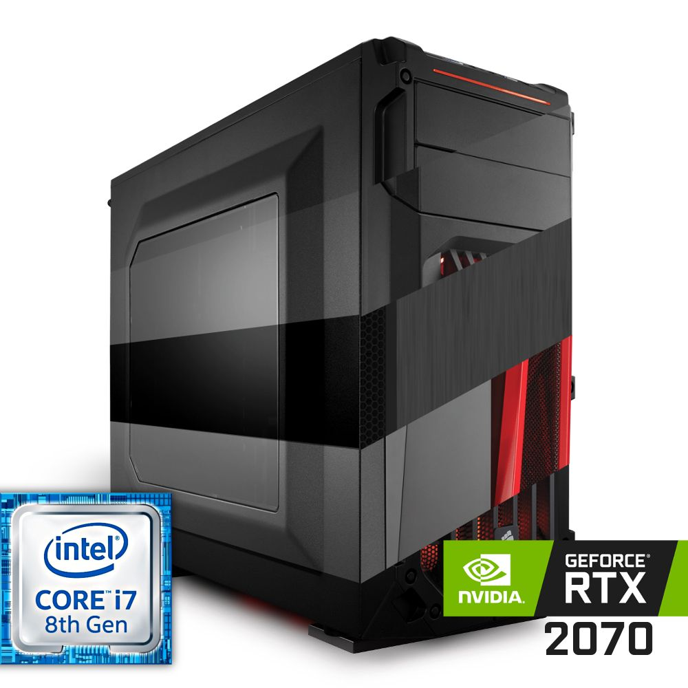 Komputer NTT Game R Intel Core i7 8-gen + RTX 2070