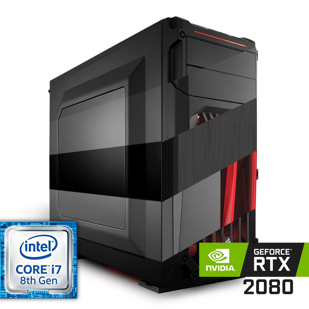 Komputer NTT Game R Intel Core i7 8-gen + RTX 2080
